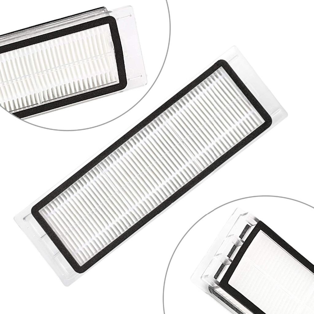 HEPA filtre + yan fırça ana fırça için toz kutusu Xiaomi MI Robot vakum 2 Roborock S50 S51 S5