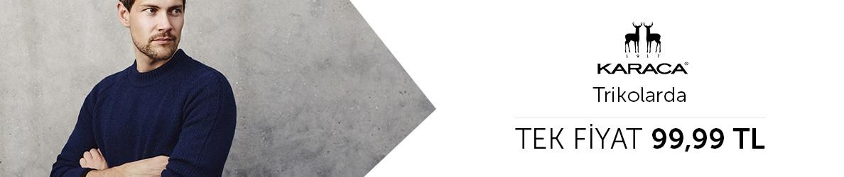 Çift Geyik Karaca Trikolarda Tek Fiyat 99.99 TL