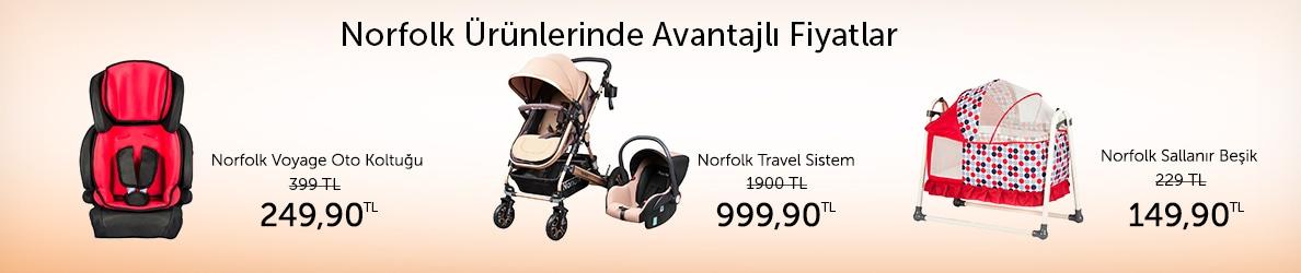 Norfolk Ürünlerinde Avantajlı Fiyatlar