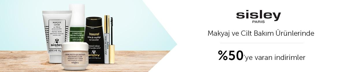 Sisley Cilt Bakım & Makyaj Ürünlerinde %50'ye varan İndirim