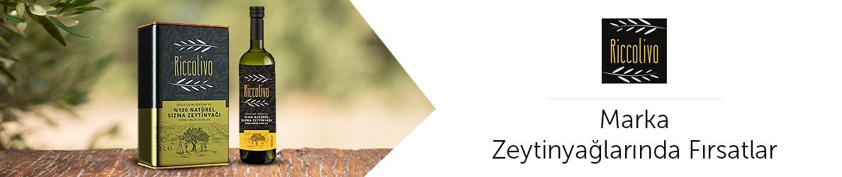 Riccolivo Zeytinyağ ürünlerinde Fırsatlar
