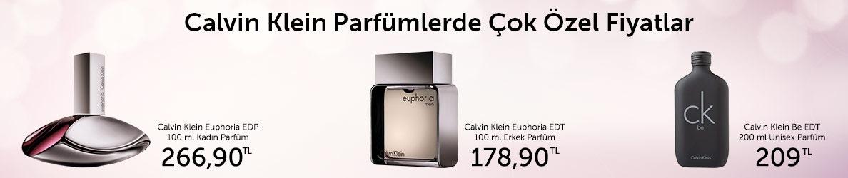 Calvin Klein Parfümlerde Çok Özel Fiyatlar