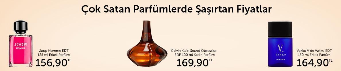 Çok Satan Parfümler