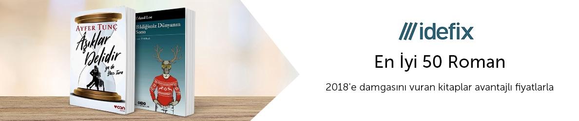 idefix 2018 En İyi 50 Roman
