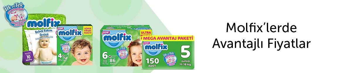 Molfix Ürünlerinde Avantajlı Fiyatlar