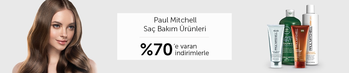 Paul Mitchell %70'e Varan İndirim