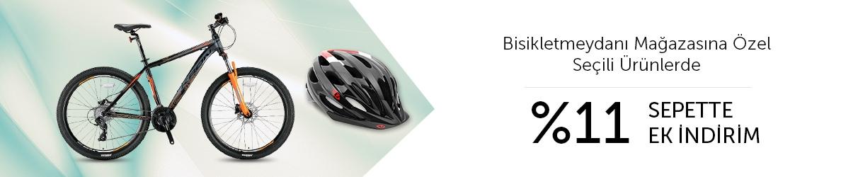 Bisikletmeydanı Mağazasına Özel Seçili Ürünlerde %11 Sepette Ek İndirim