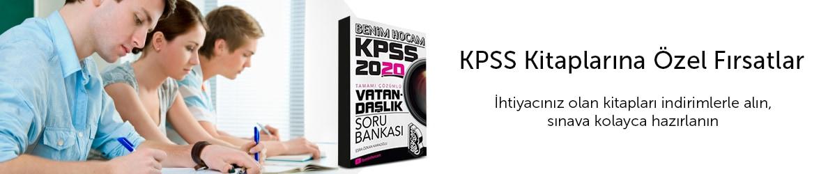 KPSS Kitaplarında Fırsatlar