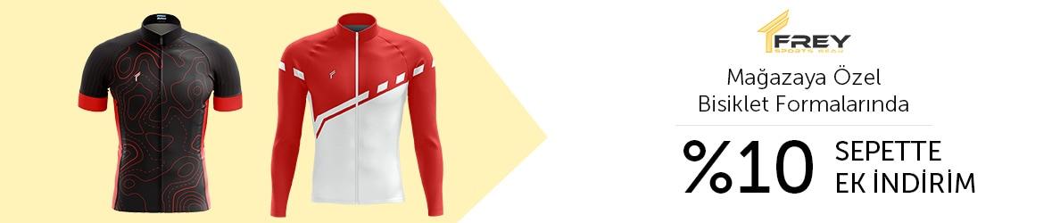 Freysport Mağazası Bisiklet Forması Ürünlerinde %10 Sepette Ek İndirim
