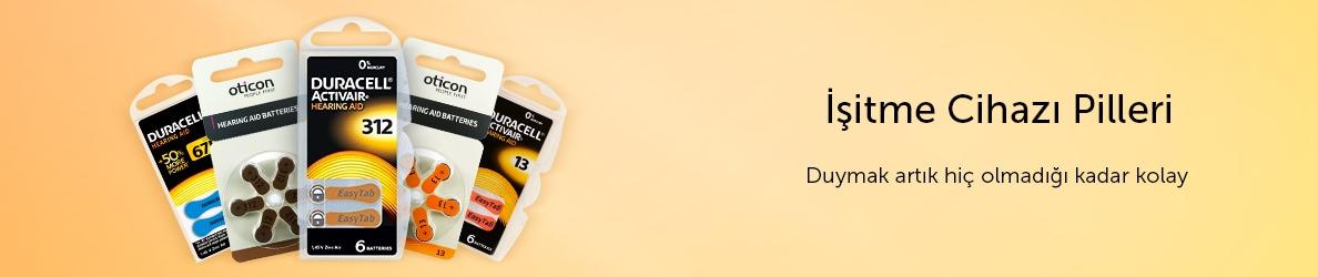 İşitme Cihazı Pilleri