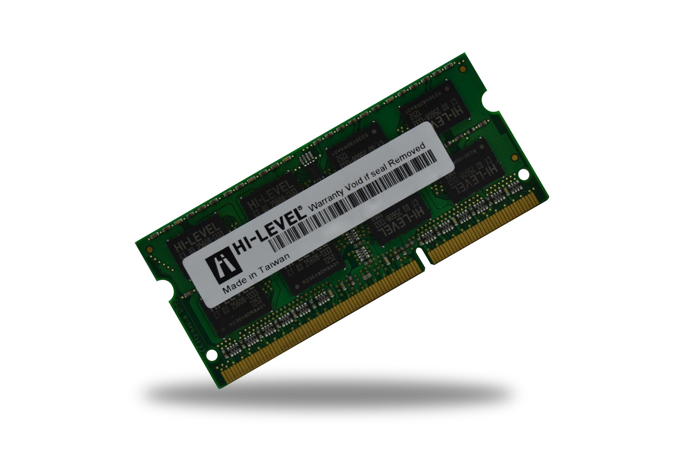Hi-Level 8GB DDR3 1600MHz Pc3-12800s Notebook Ram Bellek 1.5v