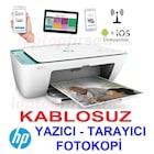 HP Deskjet 2632 Fotokopi+Tarayıcı+Wi-Fi + Airprint Yazıcı V1N05B