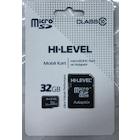 HI-LEVEL MIKRO SD 32 GB HAFIZA KARTI VE ADAPTÖR
