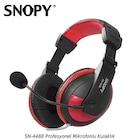 Snopy SN-4488 Mikrofonlu Kulaklık Siyah