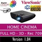 ViewSonic PRO7827HD Full HD 3D Ev Sineması Projeksiyonu