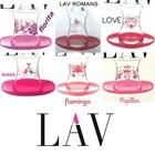 LAV Romans,flamingo,duygu,florita çay bardağı çay seti çay takımı