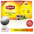 Lipton Yellow Label Siyah Süzen Demlik Poşet Çay 500 x 3.2 G