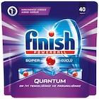 Finish Quantum Bulaşık Makinesi Tableti 40lı
