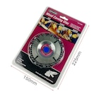 WARRIOR 61638 Wood Carving Disc Ahşap İşleme Diski 102 mm 22 Diş
