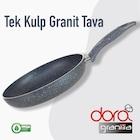 Dora Granit 30 Cm 2.5mm Kalınlık Tek Kulplu Yanmaz Yapışmaz Tava
