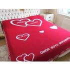 Sevgililer Gününe Özel tek kişilik özel battaniye