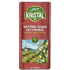 Kristal Naturel Sızma Dolgun Güçlü 5 lt Zeytinyağı