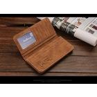 2016 Fashionable Retro Genuine Leather Unisex Long Wallet