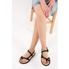 Siyah Kadın Sandalet F838243604