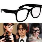 Bayan Erkek Renkli Çerçeve IMAJ_Gözlüğü Şeffaf Cam Gözlük Tarz