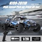Uzaktan Kumandalı Yüksek Hızlı Araba / Pickup 1:20 Ölçek