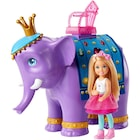 Barbie Dreamtopia Chelsea Ve Fil Kral Barbi Bebek Oyuncak Seti