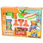 Lets Eğlence Diyarı 6 Renk Oyun Hamuru 600 Gr. L8410