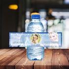 Frozen Elsa Temalı Fotoğraflı Su Etiketi