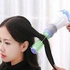 Elektrikli Saç Düzleştirici Tarak Fön Makinası Şekillendirici Kıv