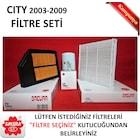 Filtre Seti [HND003FILTRESET] - Honda City 2003 - 2009