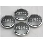 Audi Logo Jant Göbeği Kapağı Kapak 69 mm-4lü Set Seçeneği