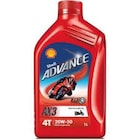 SHELL ADVANCE 20W - 50 MOTOSİKLET YAĞI 4 T