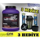 Ultimate Prostar Whey Protein 2.39 Kg Çikolata + 3 HEDİYE