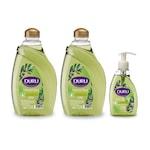 Duru Natural Olive Zeytinyağlı Sıvı Sabun 1,8+1,8+300ml