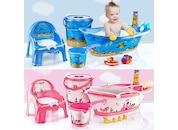 Bebek Banyo Küvet Seti - 5 Li Bebek Banyo Küveti + KAMPANYALI