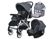 4 Baby AB 321 Çantalı Travel Bebek Arabası Puset