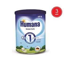 Humana 1 Bebek Sütü 0+ Ay 3 x 350 G