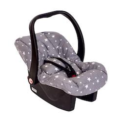 Sevi Bebe 61 Bel Destekli Ana Kucağı Örtüsü Gri Yıldız