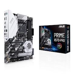Asus Prime X570-Pro AMD X570 4400 MHz (OC) DDR4 Soket AM4 ATX Anakart