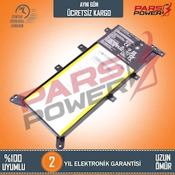 Asus DX992LB, F554LB, R506LB Notebook Batarya - Pil (Pars Power)