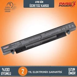 Asus K450LC, K450VB, K450VC, K450VE Notebook Batarya - Pil (Pars