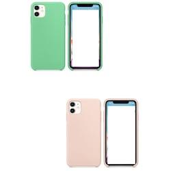 İPHONE 11 6.1inc 2019 LİQUİD  Lansman Soft Silikon Kılıf