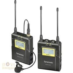 Saramonic UwMic9 TX9+RX9 Kablosuz Yaka Mikrofonu