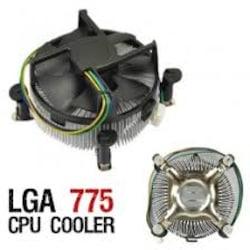 Intel LGA işlemci Fanı - 775 Fan - CPU Fan Geçmeli Fan İntel Fan