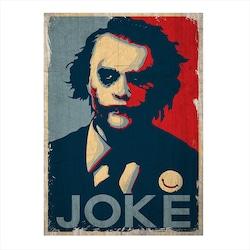 Ahşap Tablo Joke Joker